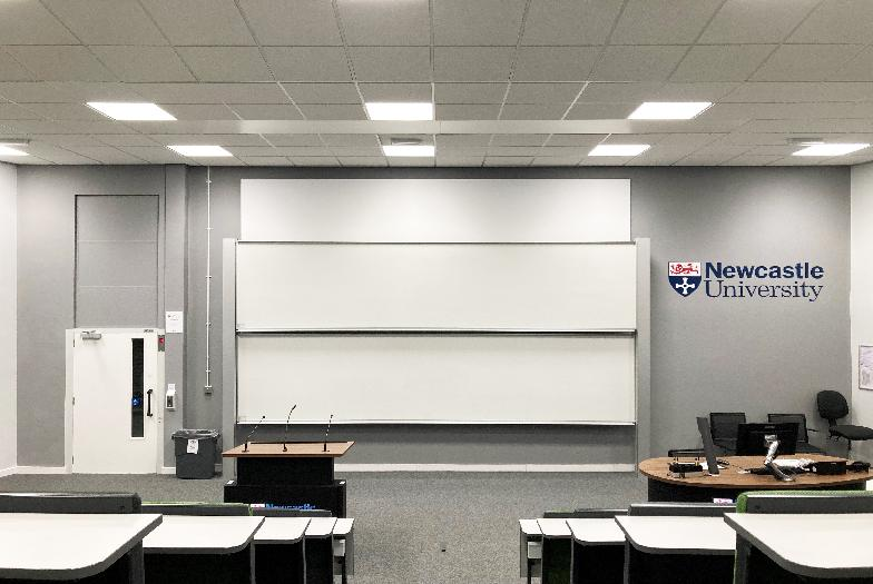 Curtis Auditorium Herschel Building Newcastle University Map